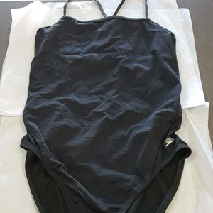 New Speedo Black One Piece